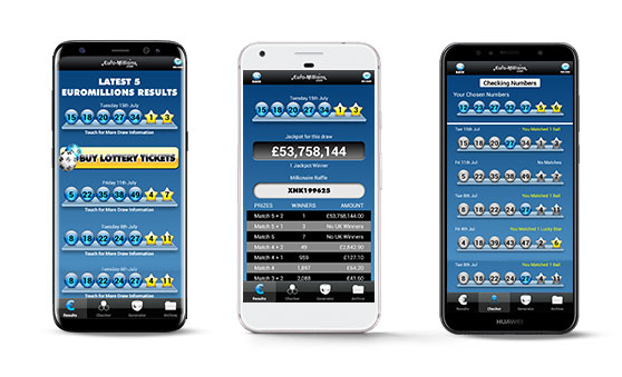 EuroMillions Andriud App Screenshots