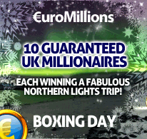 10 Guaranteed UK Millionaires on Boxing Day