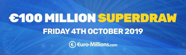 EuroMillions Superdraws - Upcoming 2019 Superdraw Dates
